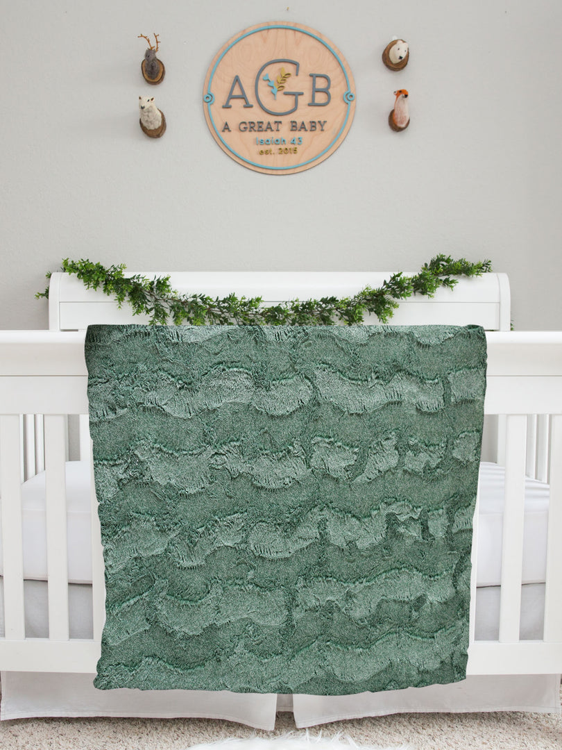 Baby's First Christmas Baby Deluxe Blanket