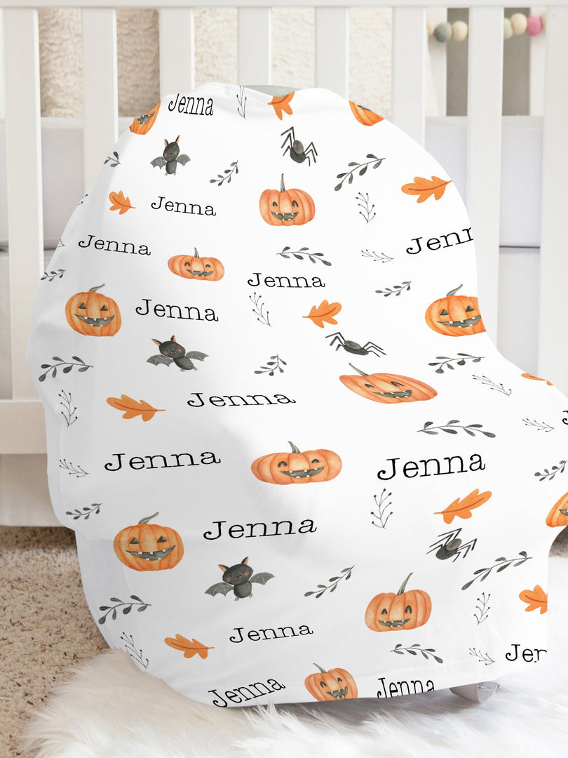 Halloween Car Seat Cover
