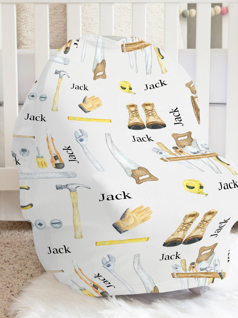 Jack's Tools Car Seat Cover