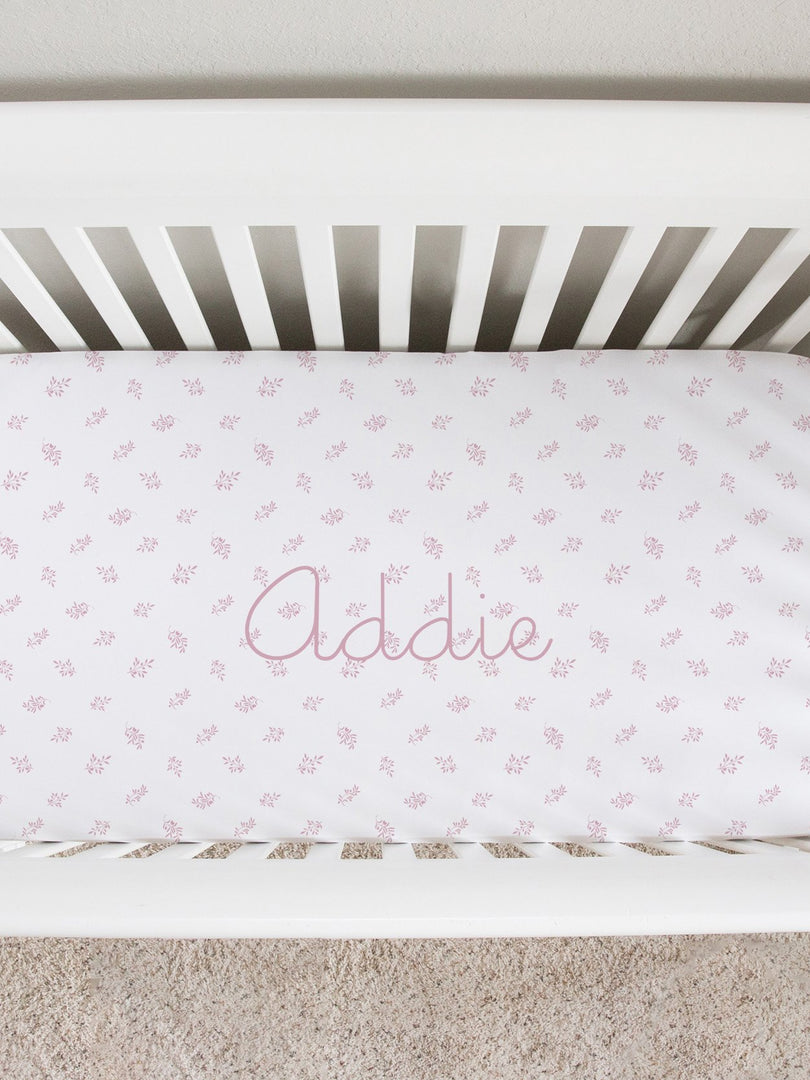 Jamie Kate Classic Crib Sheet