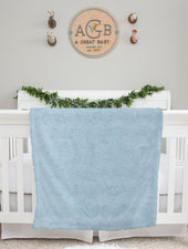 Jeff the Pilot Baby Deluxe Blanket