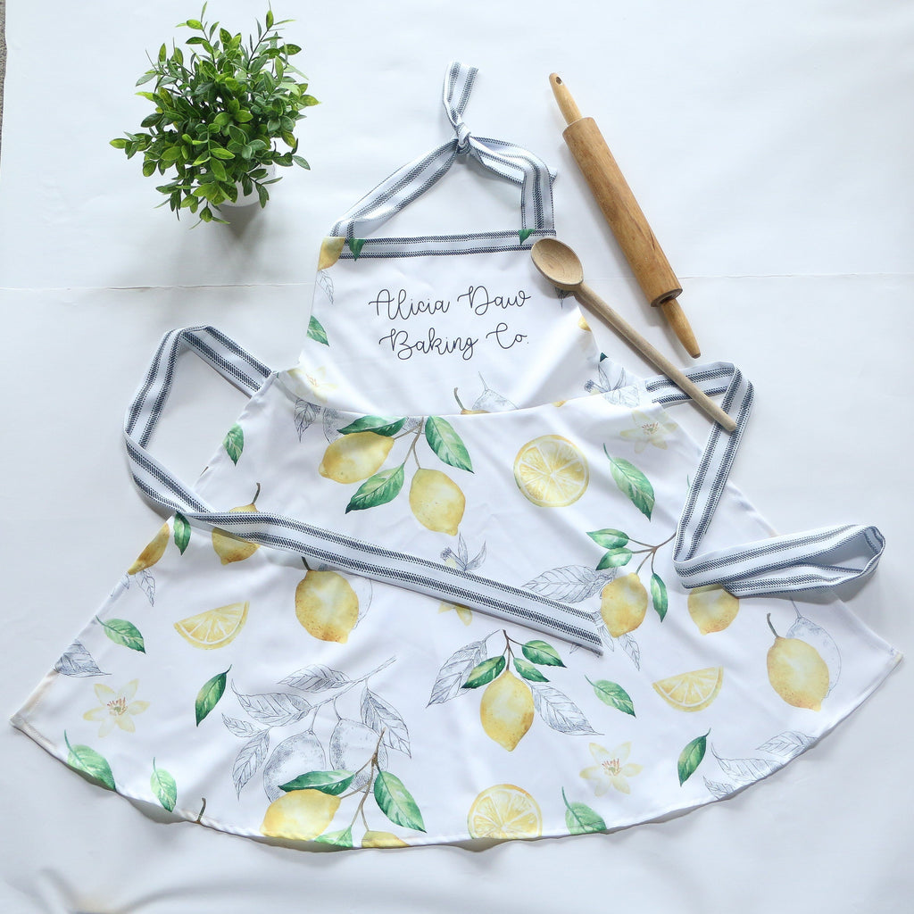Lemon Apron For Mom