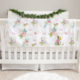 Lily Girl Baby Deluxe Blanket