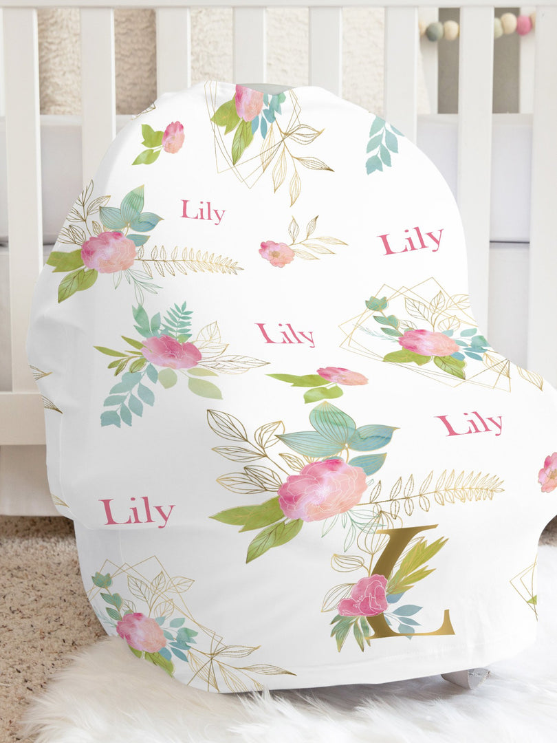 Lily Girl Car Seat Cover