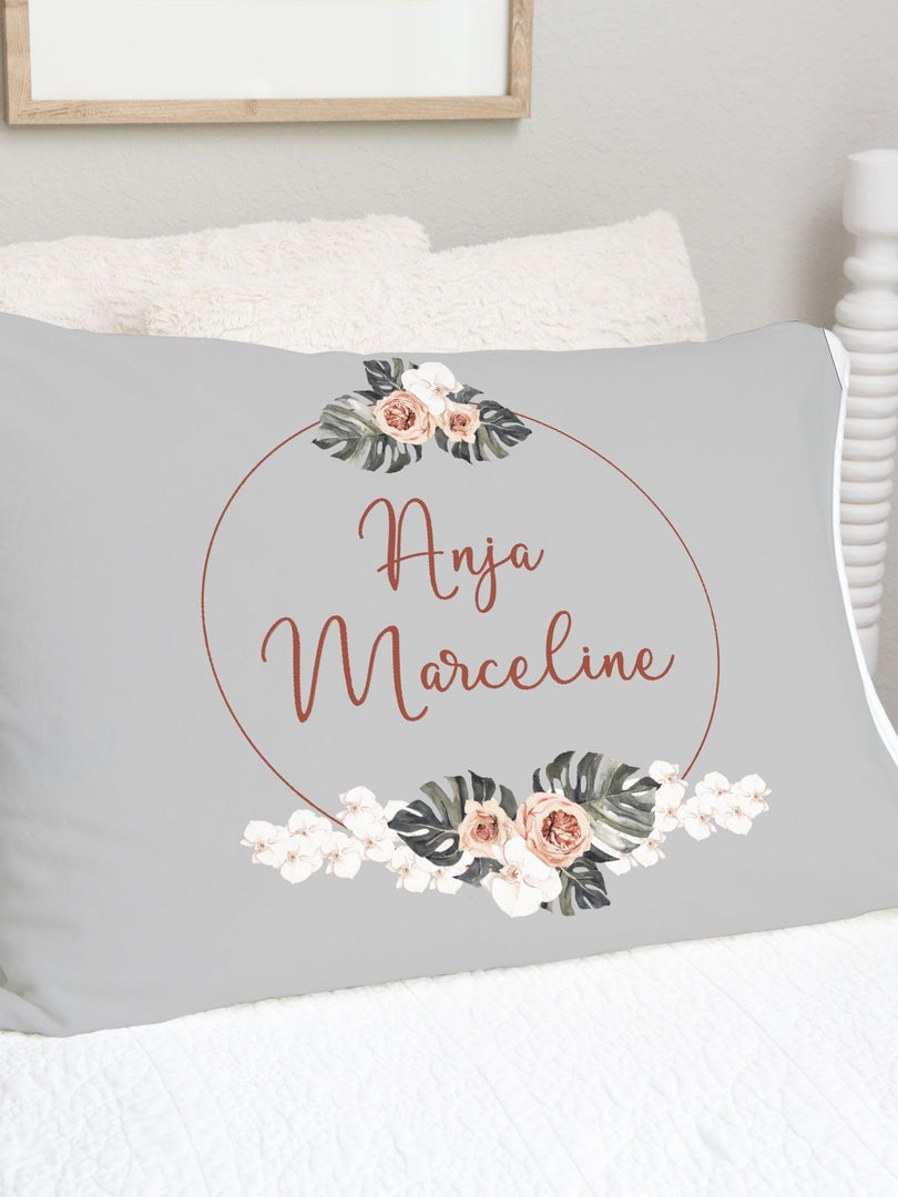 Mandy's Vintage Floral Pillowcase