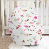 MaryAnne's Rose Garden Car Seat Cover