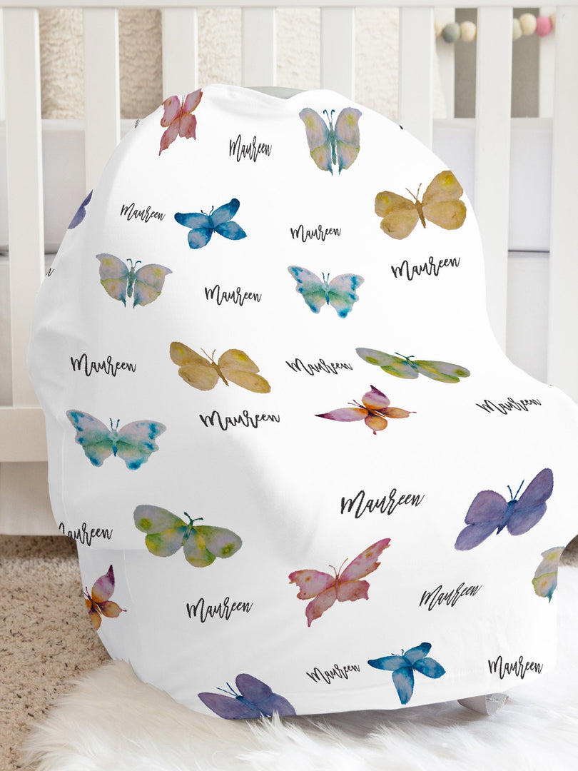Maureen's Butterfly Car Seat Cover