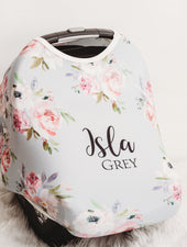 Meghan Gray Car Seat Cover