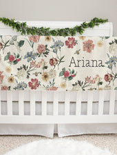 Michelle Botanicals Minky Personalized Baby Blanket