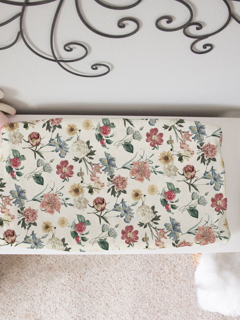 Michelle's Botanicals Changing Pad Cover