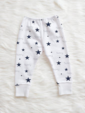 Navy Stars Leggings
