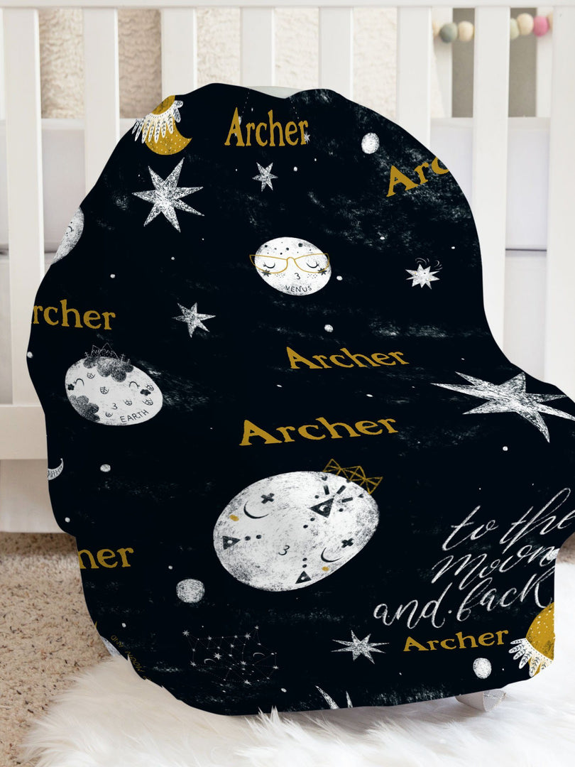 Out of this World Car Seat Cover