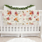 Patti's Rich Floral Baby Deluxe Blanket