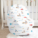 Peter Rabbit Boy Car Seat Cover