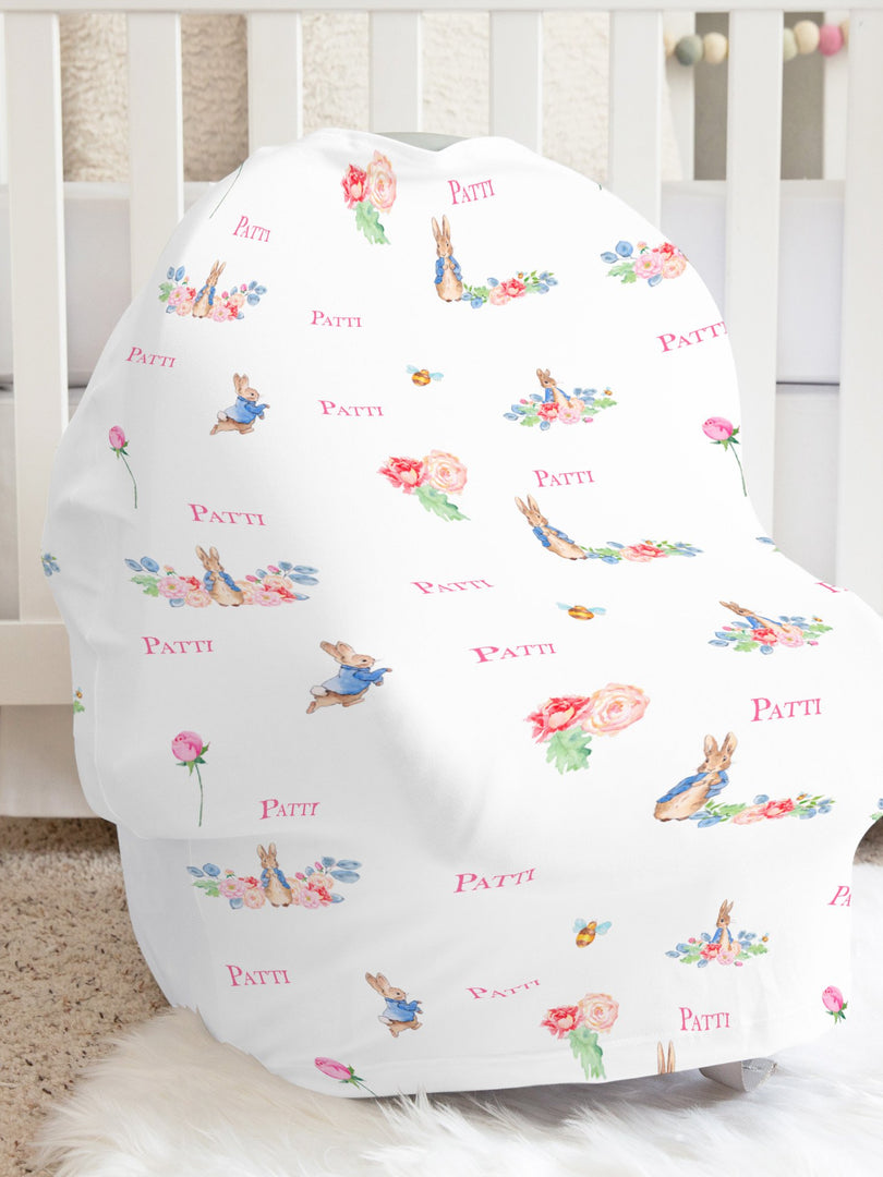 Peter Rabbit Girl Car Seat Cover