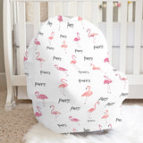 Pink Flamingo Car Seat Cover