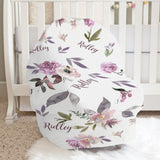 Plum Perfect Car Seat Cover