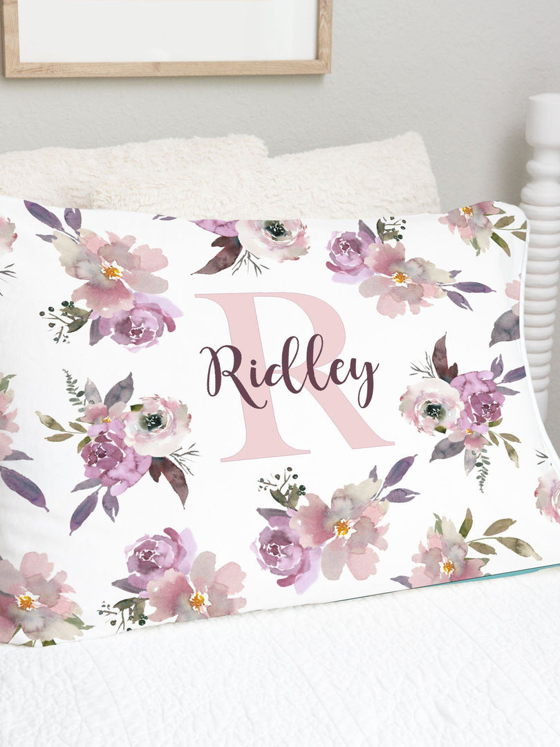 Plum Perfect Pillowcase