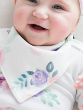 Plum Rose Bib