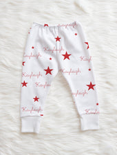 Red Stars Leggings