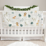 Safari Animals Baby Deluxe Blanket
