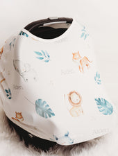 Safari Animals Car Seat Cover