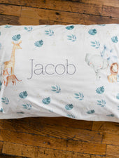 Safari Animals Pillowcase