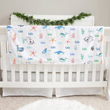 Sea Creatures Baby Deluxe Blanket