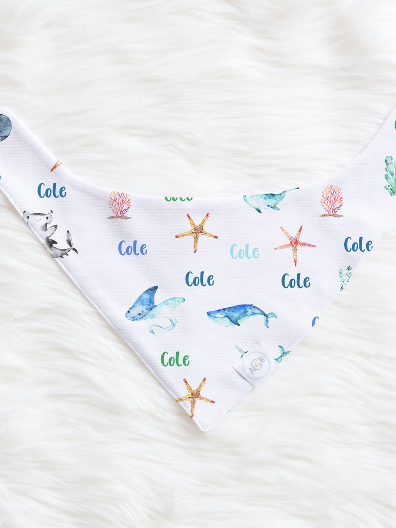 Sea Creatures Bib