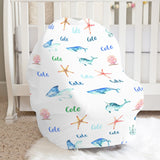 Sea Creatures Car Seat Cover