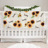 Sunflower Sue Baby Deluxe Blanket