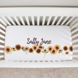 Sunflower Sue Crib Sheet