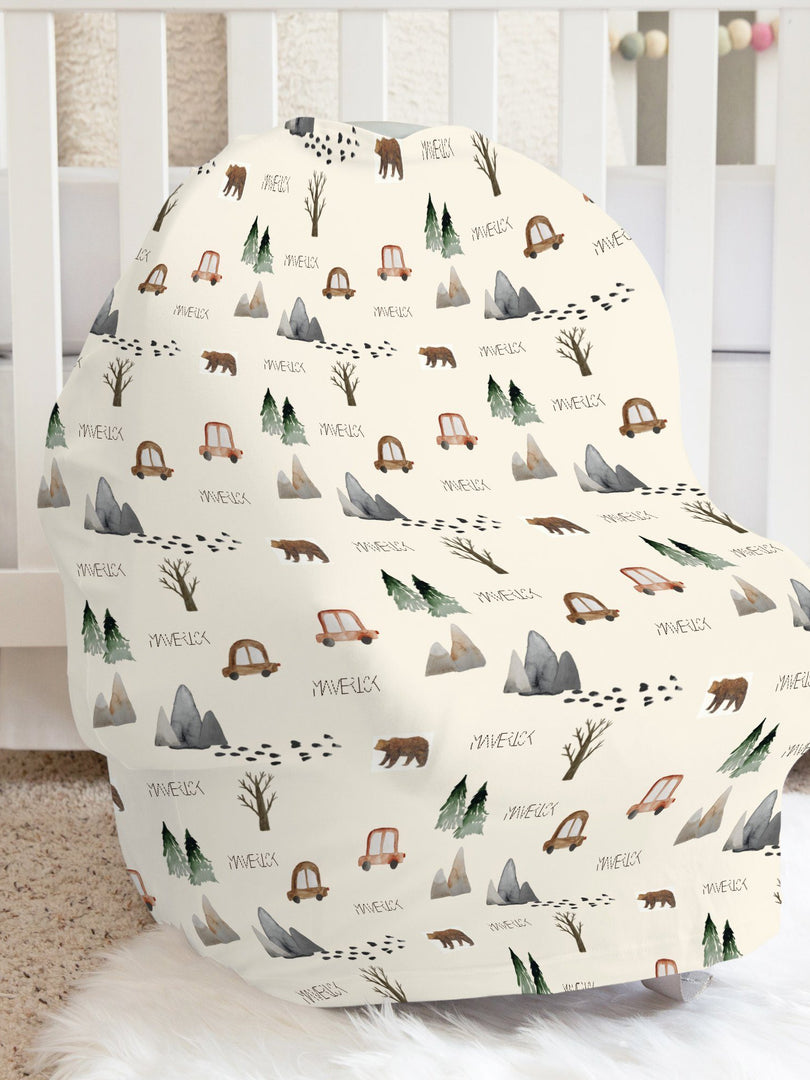 The Great Outdoors Car Seat Cover