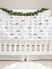 Under Construction Baby Deluxe Blanket