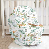 Woodland Fern Car Seat Cover