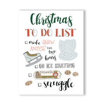 CHRISTMAS TO DO LIST (ELF)