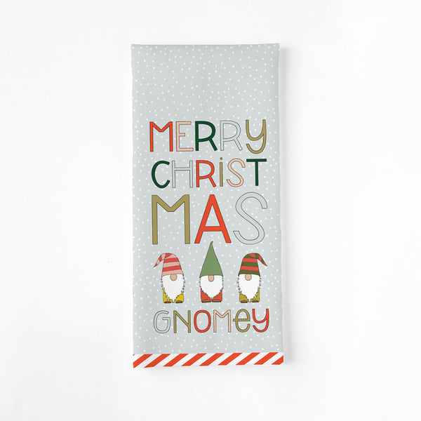 MERRY CHRISTMAS GNOMEY TEA TOWEL