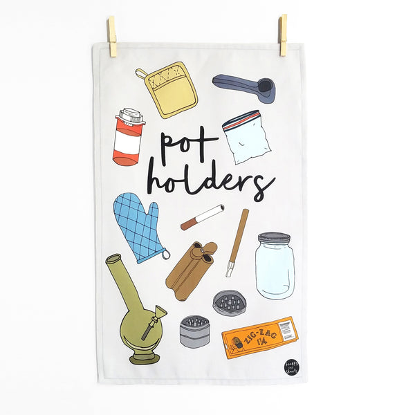 POTHOLDERS TEA TOWEL