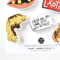 TIGER KING MAGNET SET