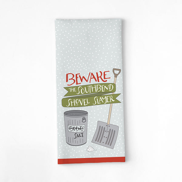 SOUTHBEND SHOVEL SLAYER TEA TOWEL