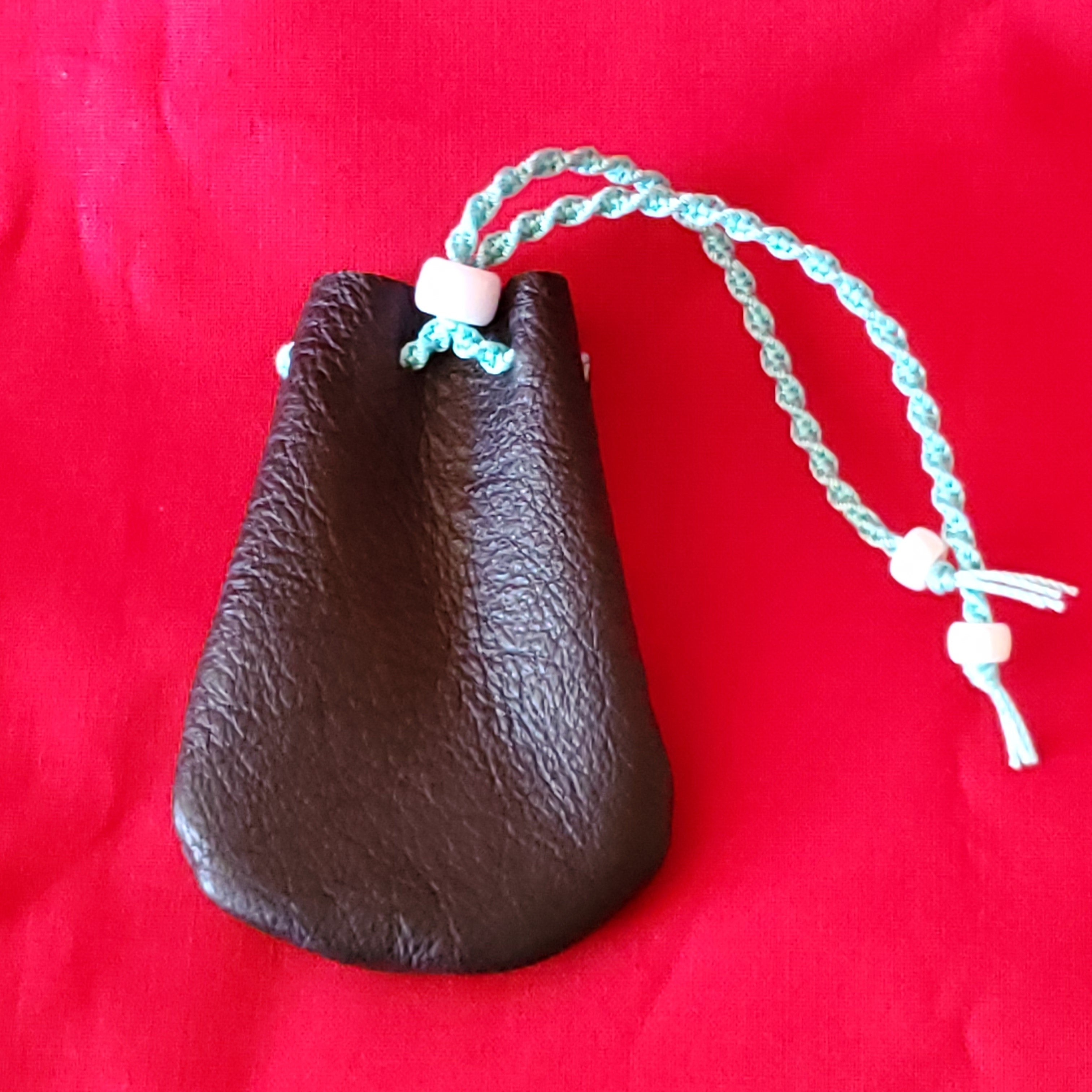 Leather Medicine Bag