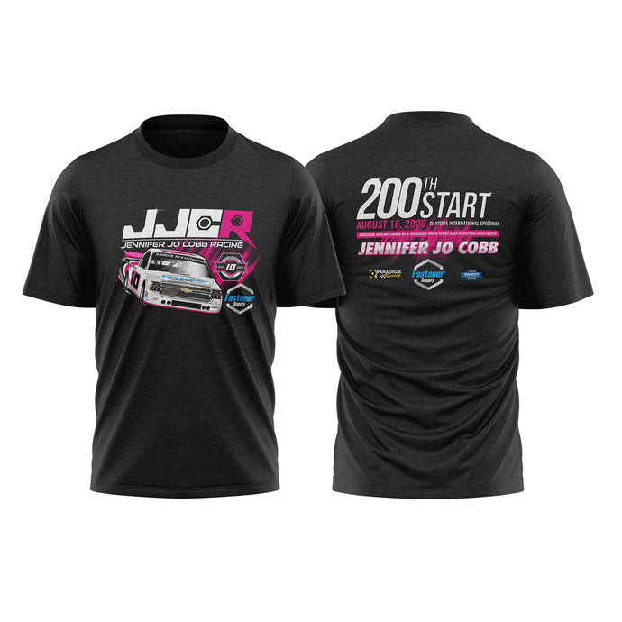 JJC 200th Truck Series Start Commemorative Tee Charcoal