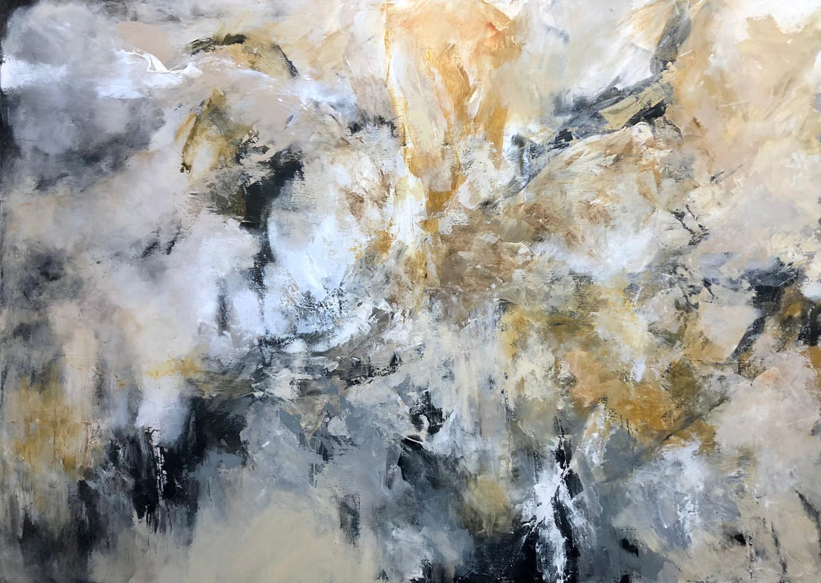 Miri Baruch, Acrylic on canvas, 100 by 140 cm