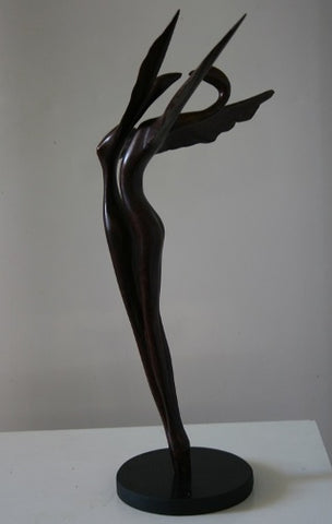 Yefim Shestik, Bronze sculpture  Size: 48 by 38 cm