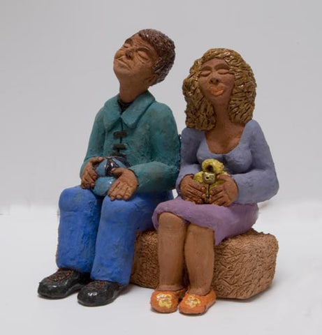 Yael Shavit,  Clay sculpture, Height 22 cm