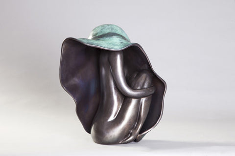 Anita Birkenfeld, Bronze  sculpture, Height 50 cm
