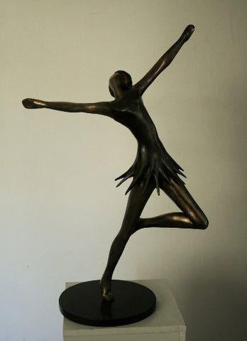Yefim Shestik, Bronze sculpture  Size: 47 by 73 cm