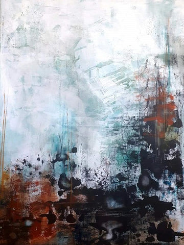 Liron ben ari,  Acrylic on canvas, 120 by 96 cm