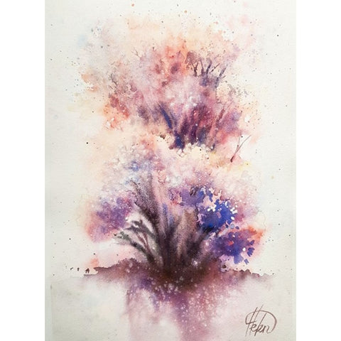 Elana Bagley, Aquarelle on paper,38 by 27 cm