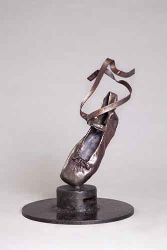 Anita Birkenfeld, Bronze  sculpture, Height 41 cm